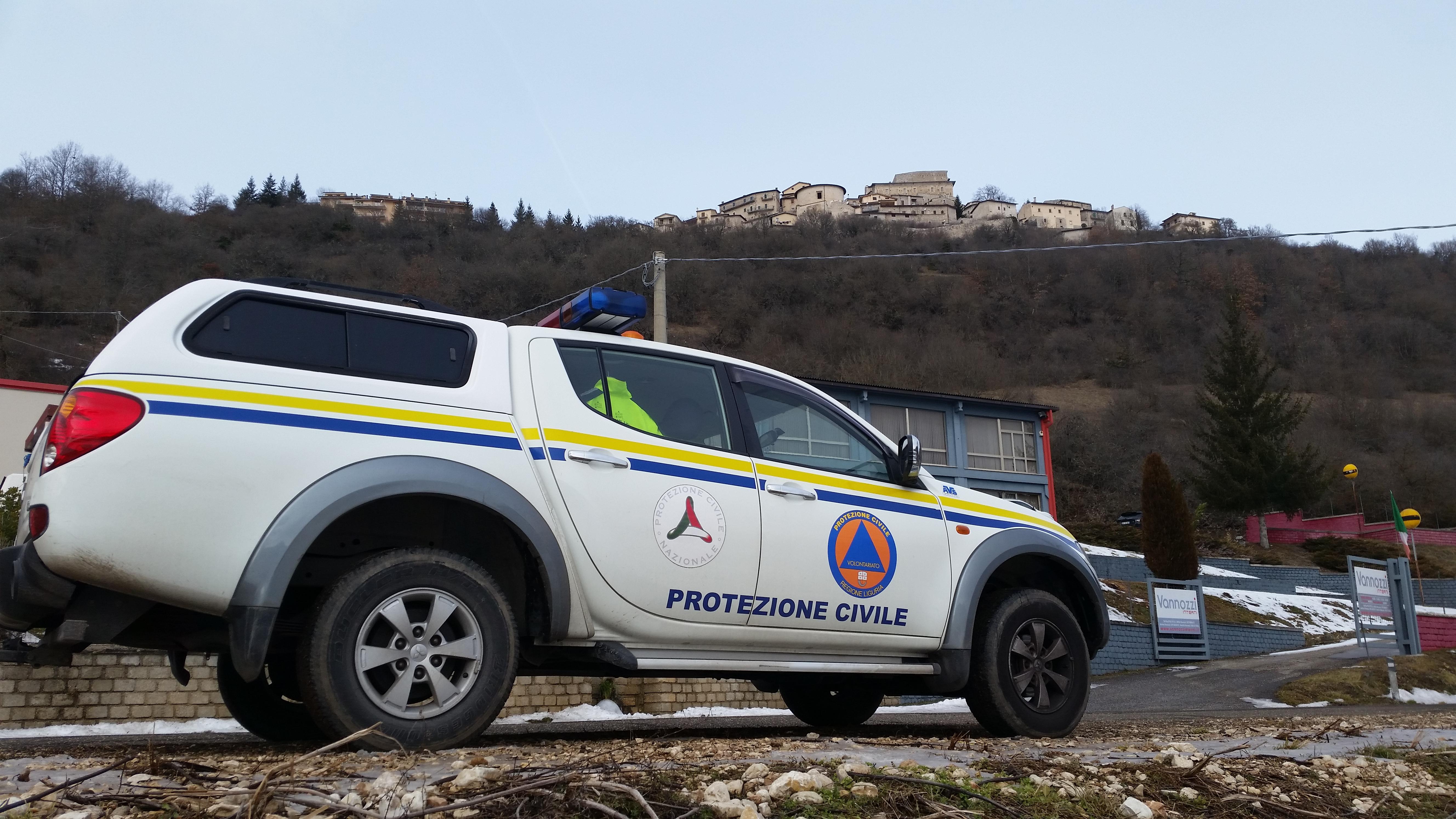 ASSISTENZA ZONE TERREMOTATE CENTRO ITALIA