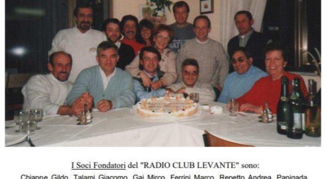 25 CANDELINE PER IL RADIO CLUB LEVANTE